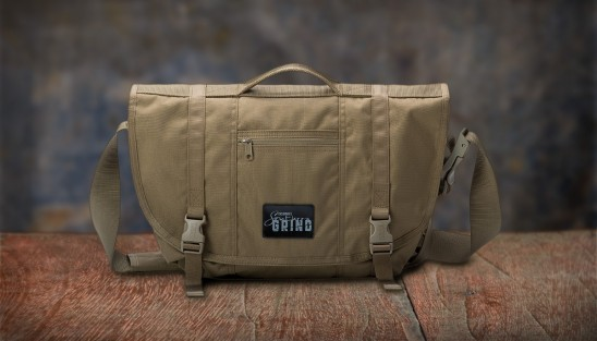 Southern Grind Covert Carry Messenger Bag - Coyote Tan