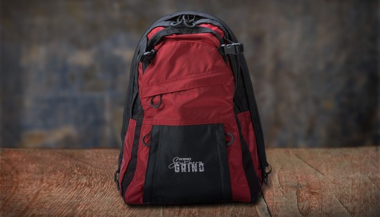 Southern Grind Diversion Carry Backpack- Red/Black