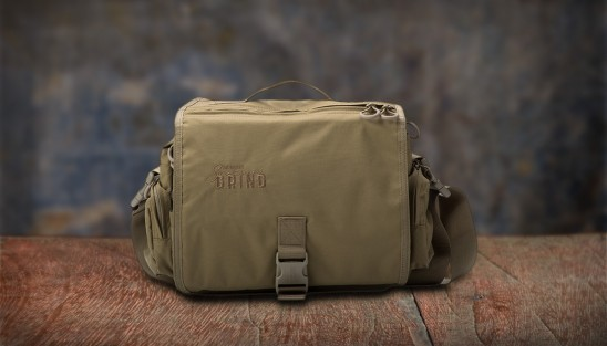 Southern Grind Diversion Courier Bag - Tan