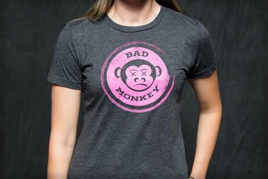 Women's Bad Monkey Emblem Tee