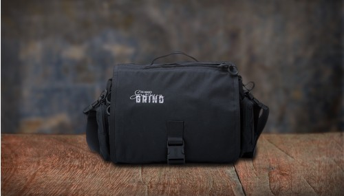Southern Grind Diversion Courier Bag - Black