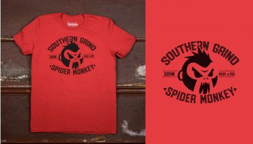 Spider Monkey Emblem Tee
