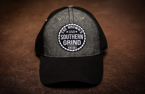 Southern Grind Hat - Grey/Black Sawblade
