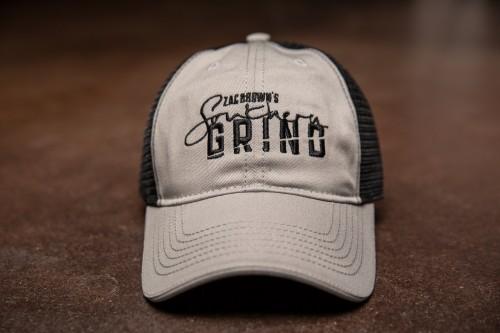 Southern Grind Hat - Light Grey/Black