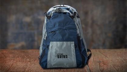 Southern Grind Diversion Carry Backpack- Grey/Blue