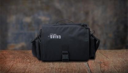 Southern Grind Diversion Courier Bag - Black