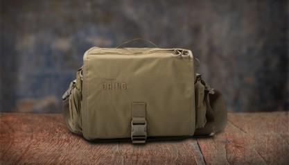 Southern Grind Diversion Courier Bag - Tan